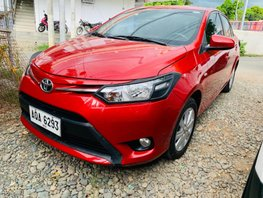 Sell Red 2016 Toyota Vios at 27000 km