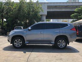 Grey 2017 Mitsubishi Montero Sport Automatic Diesel for sale