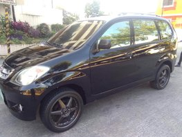 Black Toyota Avanza 2009 Manual for sale in Manila