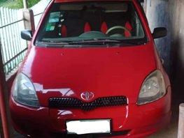 Sell Red Toyota Echo 2000 Hatchback in Batangas