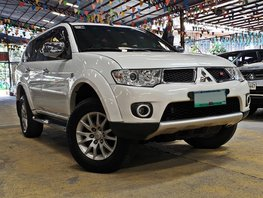 White 2013 Mitsubishi Montero Automatic Diesel for sale
