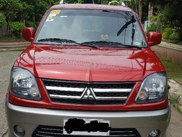 Red 2017 Mitsubishi Adventure at 46500 km for sale in Cainta