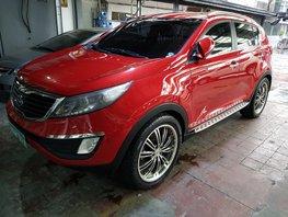 Red 2012 Kia Sportage at 61000 km for sale in Metro Manila