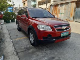 Sell Red 2008 Chevrolet Captiva Automatic Diesel