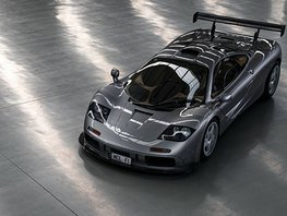 Very rare road legal Mclaren F1 LM Spec to be sold in auction