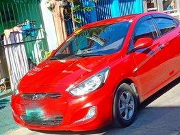 Selling Red Hyundai Accent 2013 Sedan in Marikina