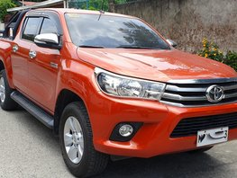 Orange 2017 Toyota Hilux Truck Automatic Diesel for sale