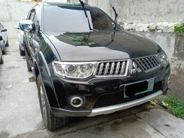 Sell Black 2012 Mitsubishi Montero Sport Automatic at 65000 km
