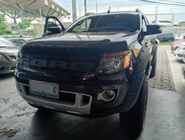 Selling Black 2014 Ford Ranger at 65000 km in Laguna