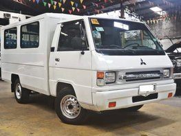 White 2016 Mitsubishi L300 Van for sale in Quezon City