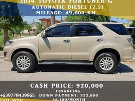 Toyota Fortuner 2014 for sale in Las Pinas