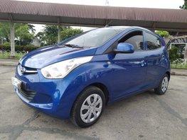 Sell Blue 2018 Hyundai Eon Manual in Isabela