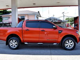 Sell Orange 2015 Ford Ranger Automatic Diesel