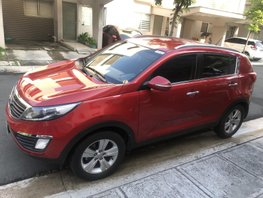 Red 2012 Kia Sportage at 40000 km for sale in Pasig