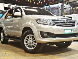 Beige 2012 Toyota Fortuner at 65000 km for sale in Quezon City