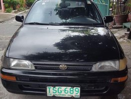 Selling Black Toyota Corolla 1994 Sedan Manual in Las Pinas