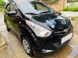 Black 2018 Hyundai Eon Hatchback at 9000 km for sale
