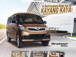 All New Gratour Minivan 8-seater with Low Down Payment in Pasig