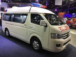 Selling Brand New Foton Transvan HR Ambulance in Pasig