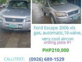 2006 Ford Escape for sale in Quezon City