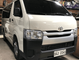 Selling White Toyota Hiace 2019 at 10000 km in Makati