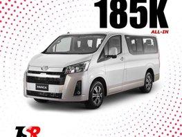 Selling Pearlwhite 2019 Toyota Hiace Van in Santa Rosa