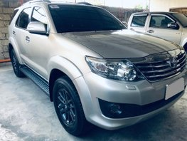 Used 2012 Toyota Fortuner for sale in Cebu