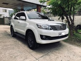 Sell 2nd Hand 2014 Toyota Fortuner Automatic Diesel in Cebu