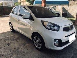 White 2015 Kia Picanto for sale in Cebu City
