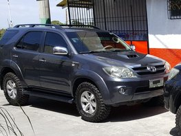 Toyota Fortuner 2007 diesel for sale in Mandaluyong City