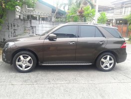 Used 2014 Mercedes-Benz Ml-Class for sale in Quezon City