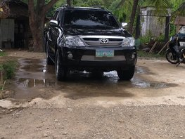 Selling Used Toyota Fortuner 2007 Automatic Gasoline