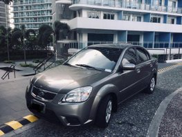 Grey 2010 Kia Rio Automatic for sale
