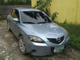 Sell Blue 2008 Mazda 3 Hatchback at 41000 km