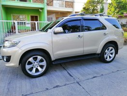 2012 Toyota Fortuner for sale in Manila