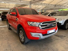 Sell Red 2016 Ford Everest at 43000 km in Makati