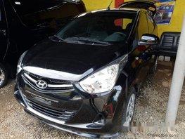 Black Hyundai Eon 2018 for sale in Quezon City