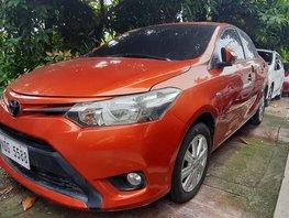Selling Orange Toyota Vios 2017 Manual at 8000 km