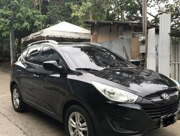 Black 2012 Hyundai Tucson for sale in Cebu City