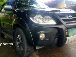 Black 2007 Toyota Fortuner Automatic Gasoline for sale