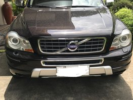 Black Volvo Xc90 2013 Automatic for sale in Cainta