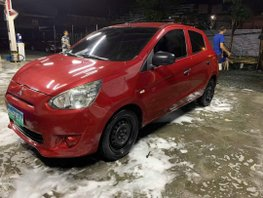 Selling Red Mitsubishi Mirage 2013 in Pasig