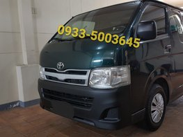 2nd Hand 2011 Toyota Hiace Manual Diesel for sale in Quezon City