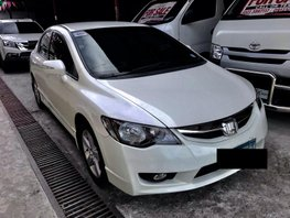 White 2010 Honda Civic for sale in Quezon City