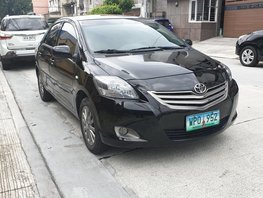 Sell Black 2013 Toyota Vios at 51000 km in Quezon City