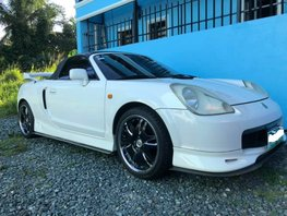 Selling White Toyota Mr-S 2000 at 100000 km in Manila