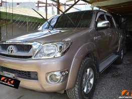 Used Toyota Hilux 2011 Truck for sale in Davao City