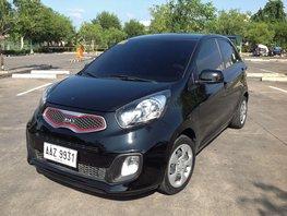Selling Black Kia Picanto 2015 at 21000 km