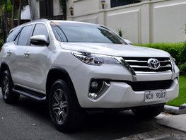 Used 2016 Toyota Fortuner for sale in Quezon City