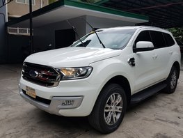 White 2016 Ford Everest Automatic Diesel for sale in Quezon City